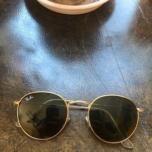 Vintage round Ray Bans